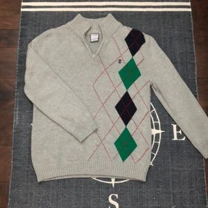 Boy's IZOD Half Zip Sweater